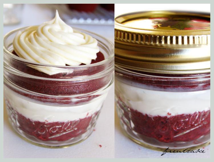 Diy Cupcake In A Jar Freutcake