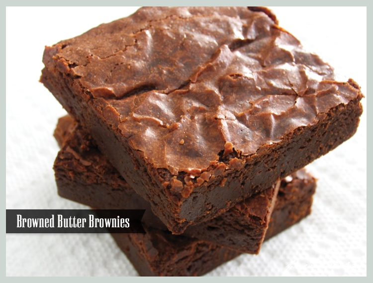 Craving: Brownies with Browned Butter - Freutcake | Freutcake